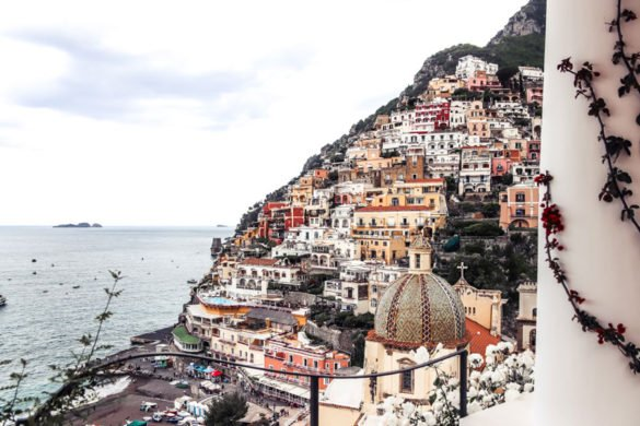 View from Le Sirenuse Positano