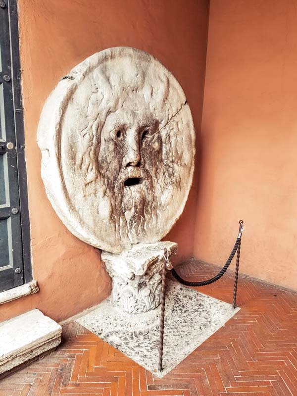 Mouth of Truth in Rome might be something to check out with 4 days in Rome.