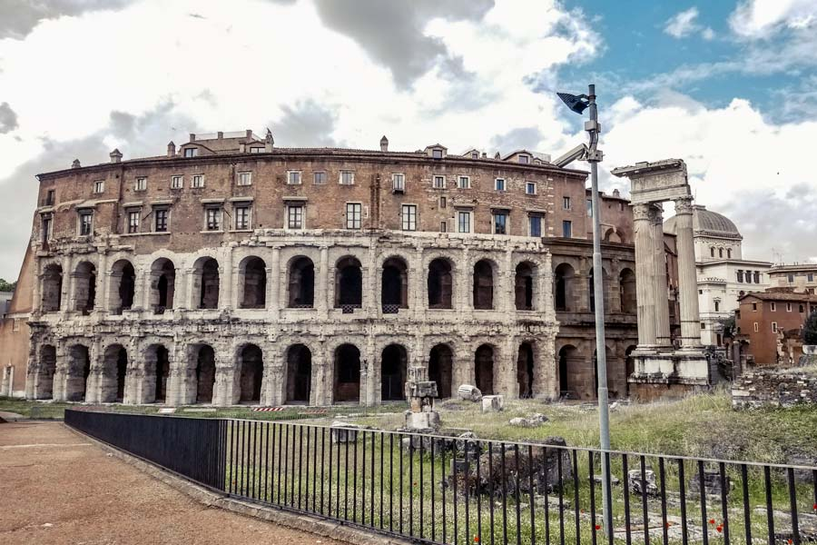 Marcello Theater Rome is a hidden gem