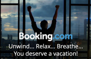 booking. com logo