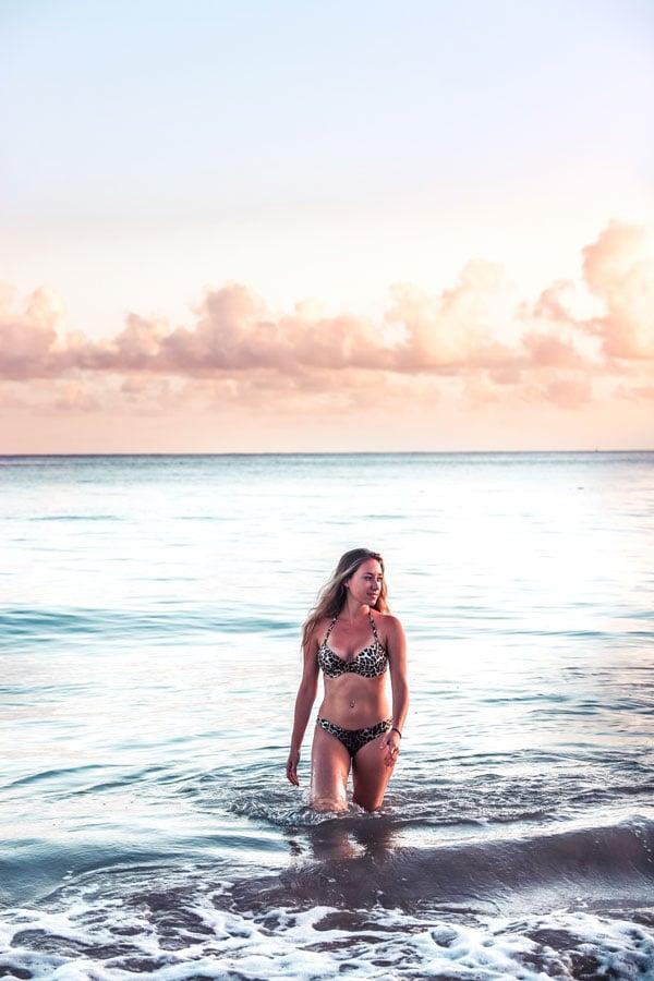 One of the best things to do in Old San Juan is visit Isla Verde beach