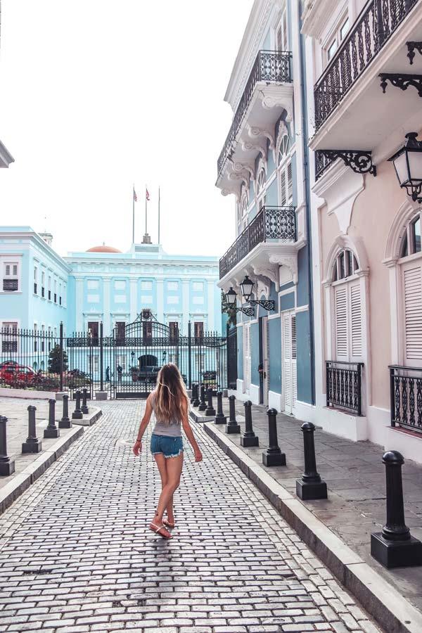 Fortaleza Street Old San Juan