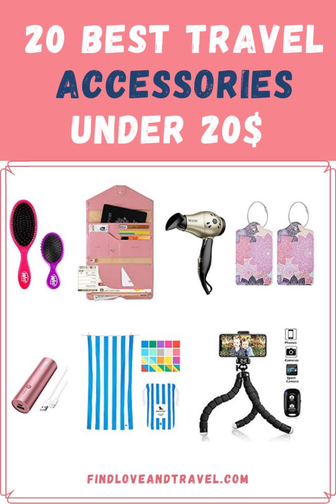 20 Travel Accessories Under $20 Bucks