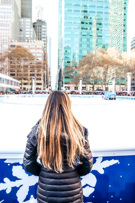 Visiting New York City in December? Make sure to visit the Bryant Park Winter Village!