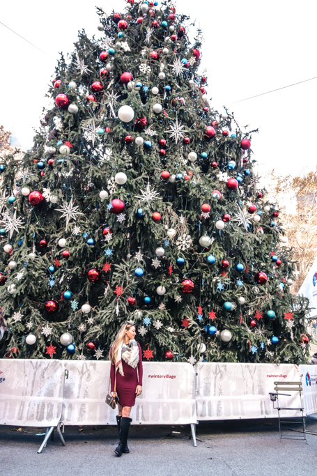 Ultimate guide to seeing the best of New York City in December! Includes the all holiday festivities you won't want to miss!