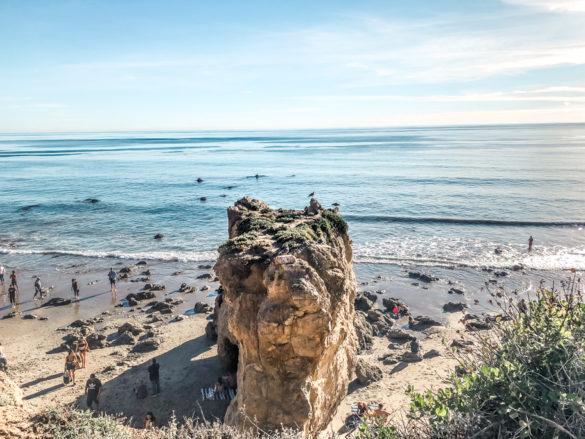 Nhìn từ Bãi biển El Matador