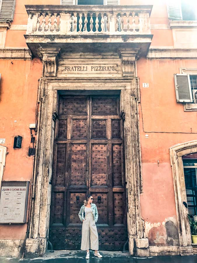 Find tons of photo-worthy doors around Rome Italy