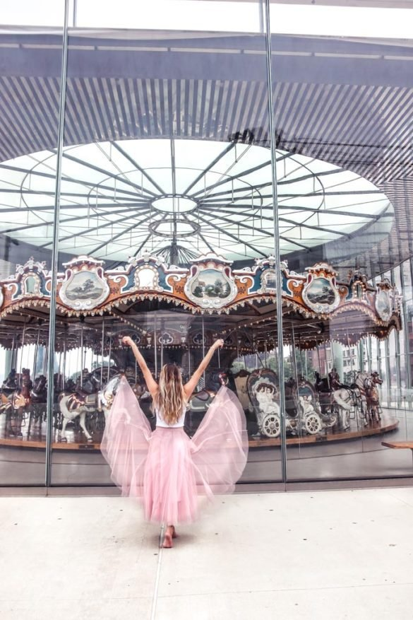 Janes Carousel in Brooklyn Bridge Park, Dumbo NYC