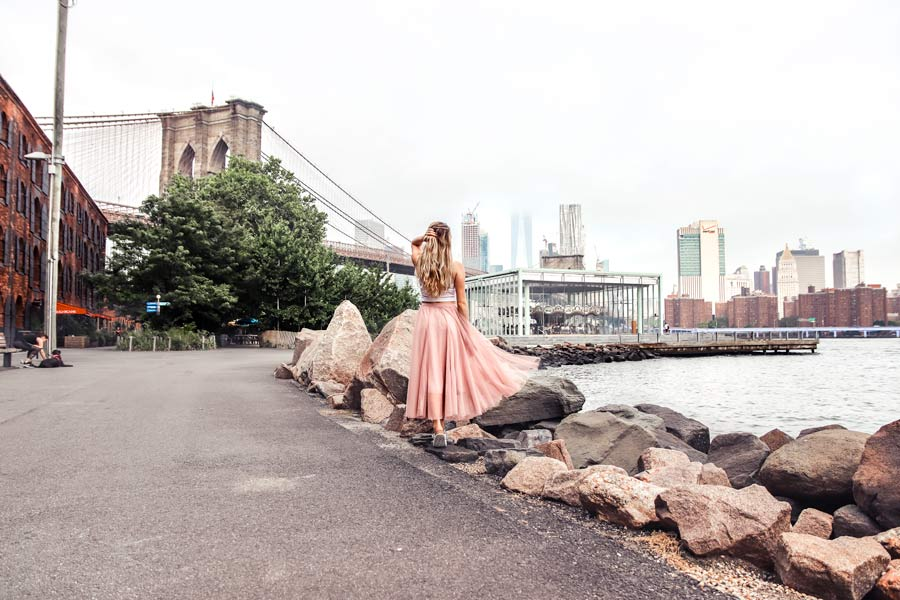 NYC Most Instagrammable Palces include Brooklyn Bridge Park