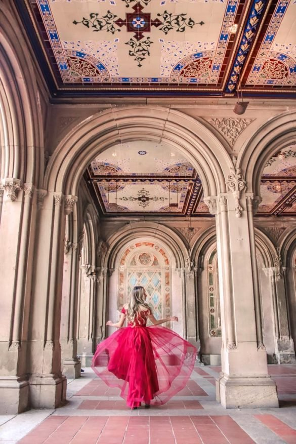 Bethesda Terrace in Central Park, NYC Instagram Spot