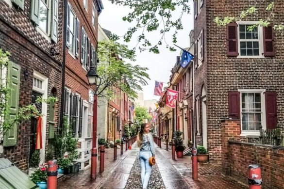 Elfreth's Alley Philly
