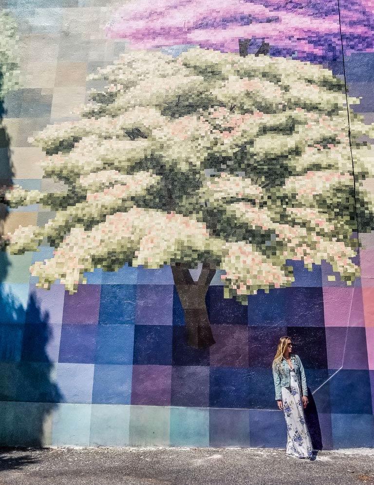 Mural Mile in Philadelphia