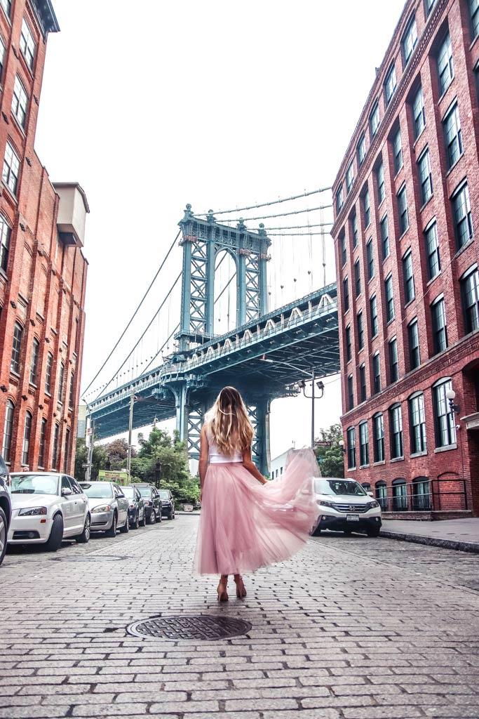 Famous Manhattan Bridge photo location