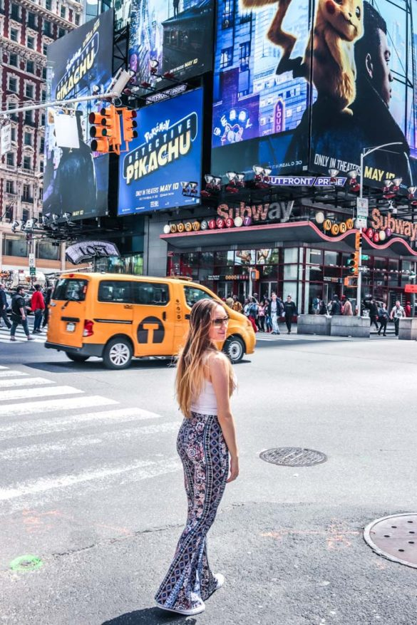 Time Square NYC Photography