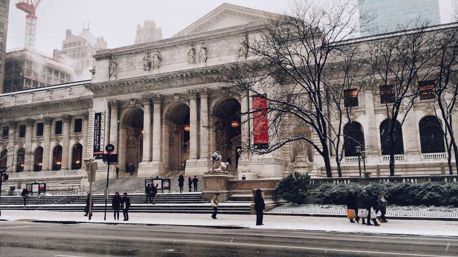 NYC Public Library is free to visit and a must-see
