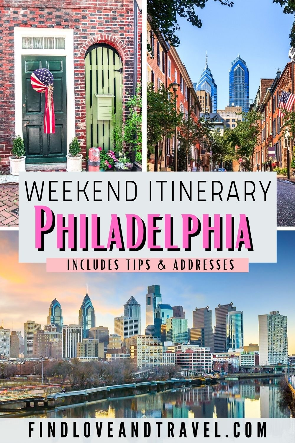 Weekend in Philadelphia itinerary 3 days in Philly