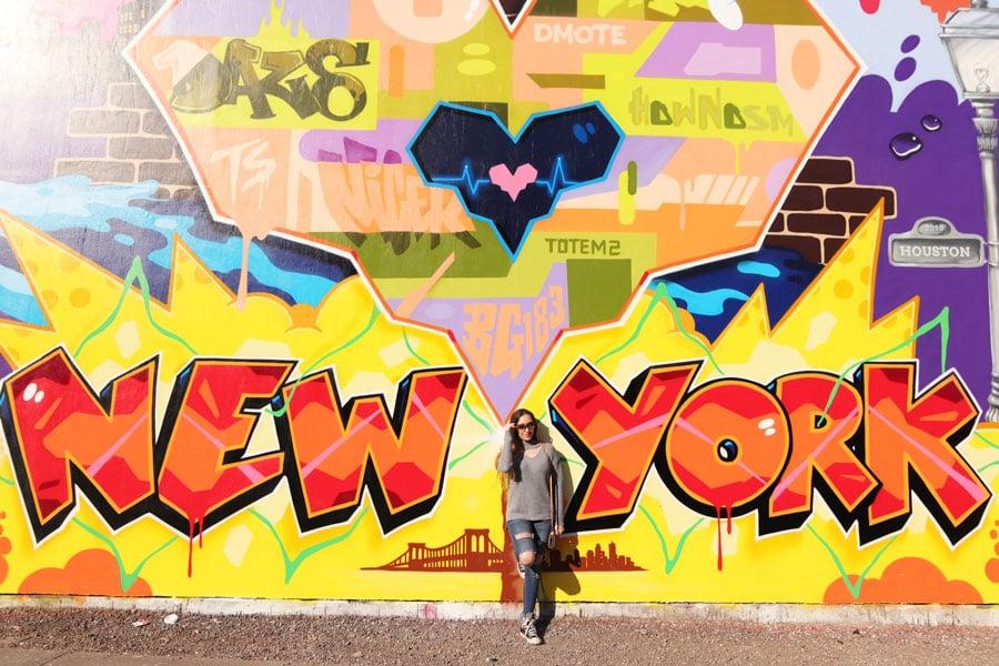 New York Mural in NYC Soho
