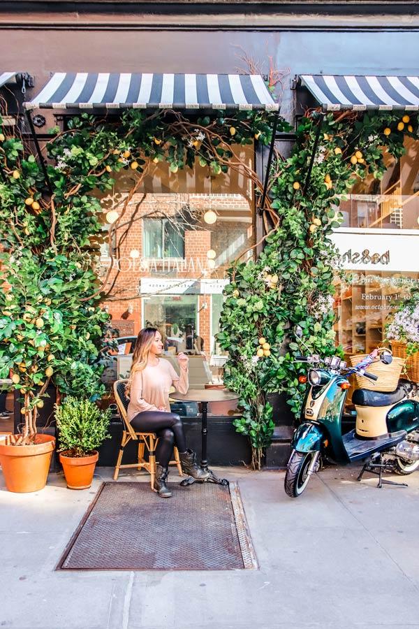 Instagrammable store L'Appartement Sézane in NYC Nolita