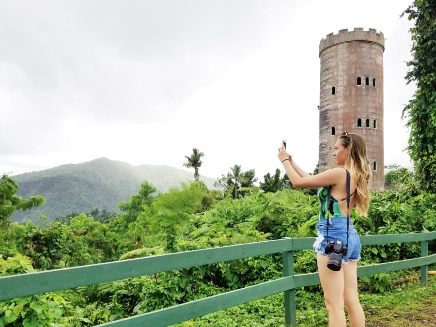 Visit El Yunque Tropical Rainforest for as one of the fun things to do in Puerto Rico