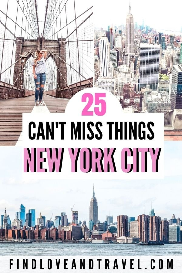 25 best things to do in NYC