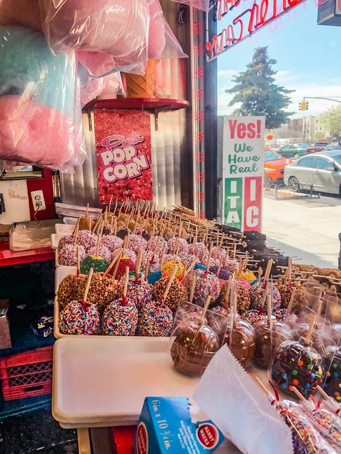 Williams Candy shop in Coney Island, Brooklyn