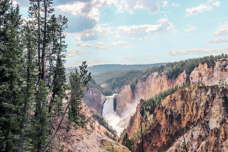 Make sure to add the Grand Canyon of Yellowstone to your Itinerary