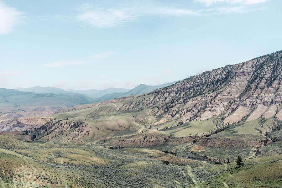 Scenic Views of Yellowstone