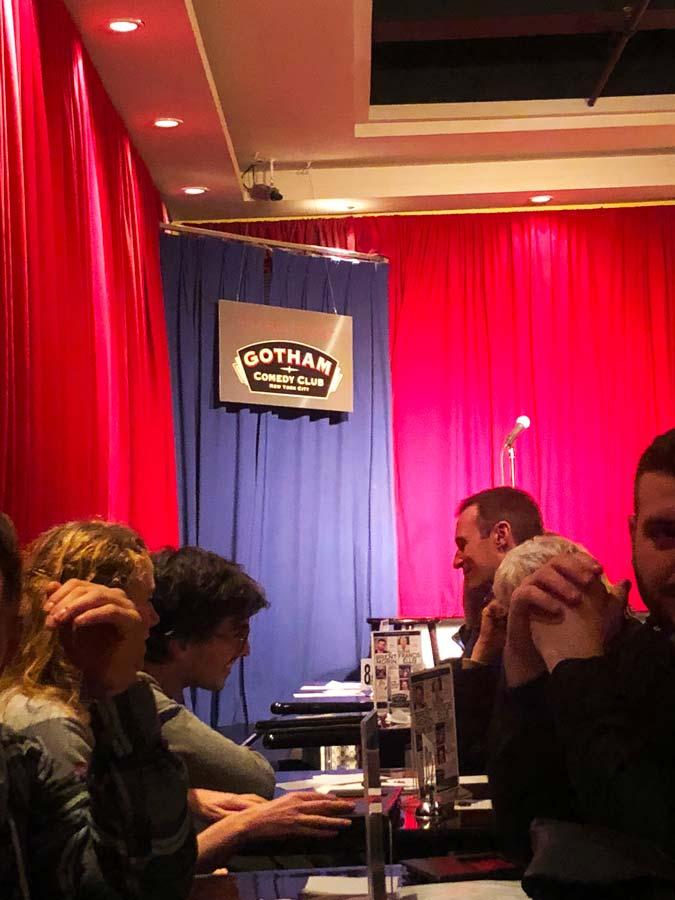 Gotham Comedy Club in NYC