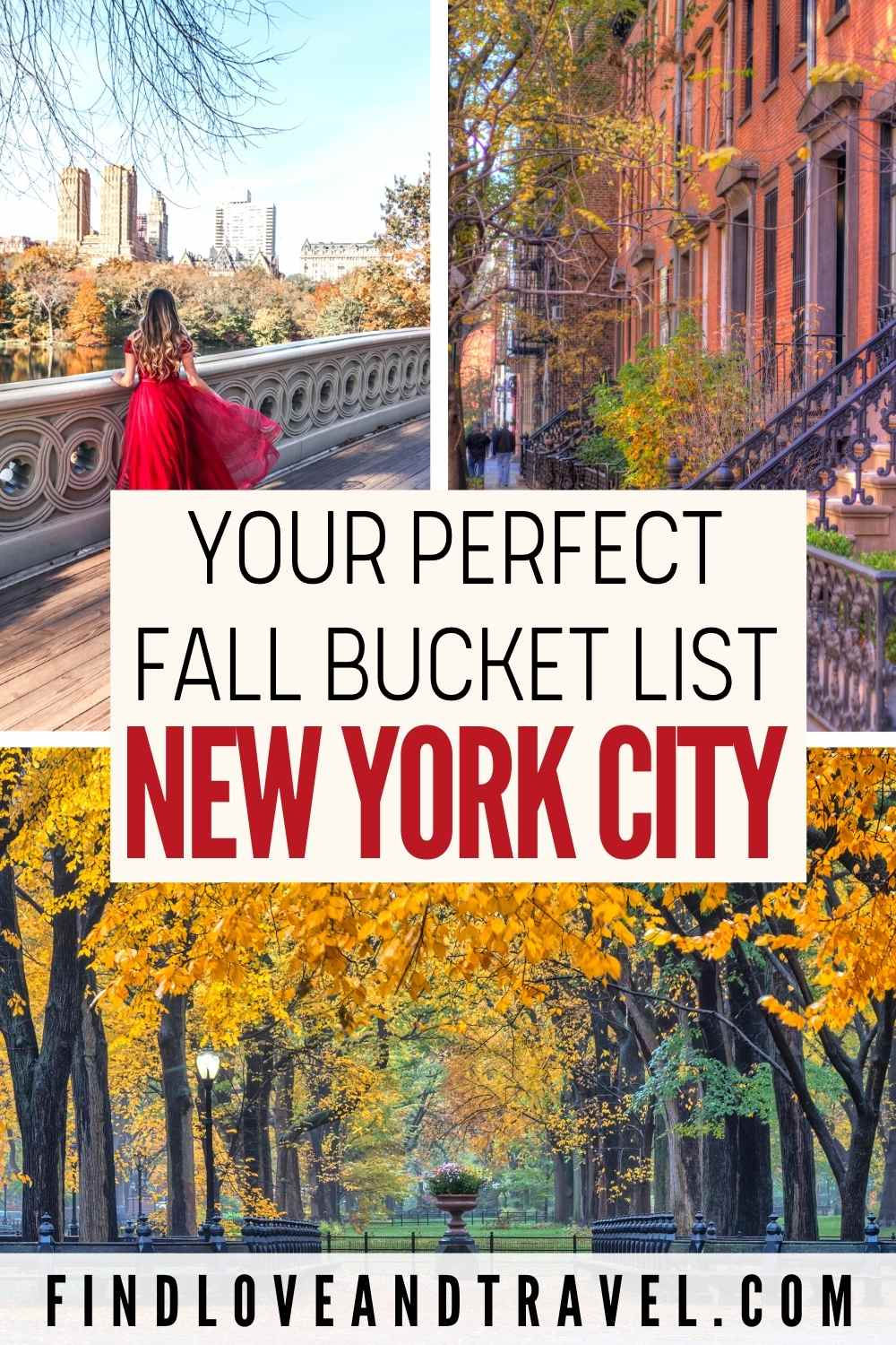 NYC Fall Bucket List best things to do in New York