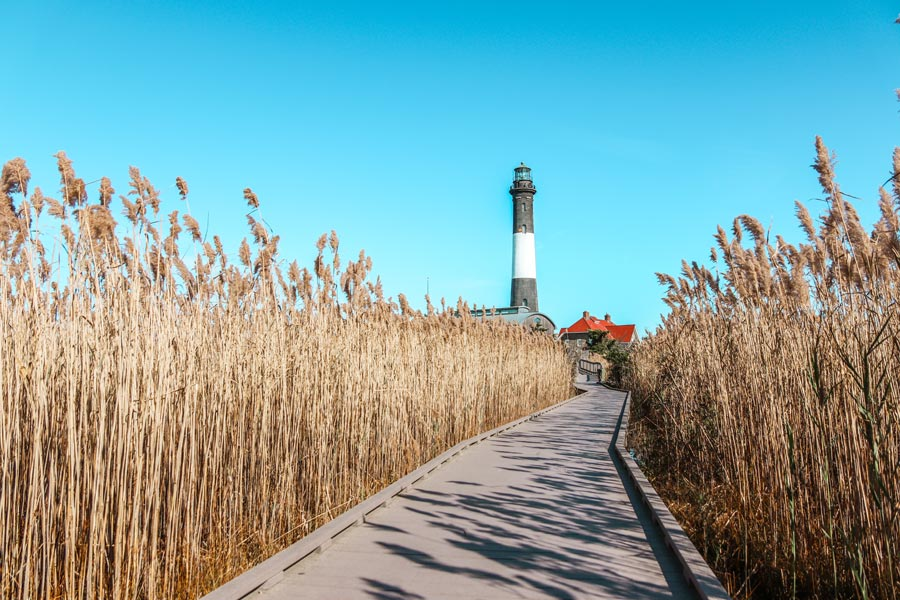 The Fire Island Lighthouse is one of the best things to see on Long Island