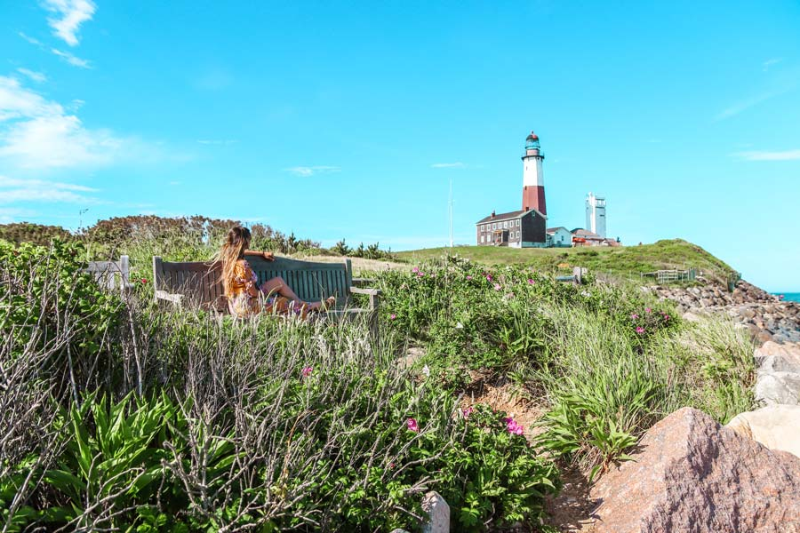 Makes sure to visit the Montauk Lighthouse - one of the best things to do on Long Island