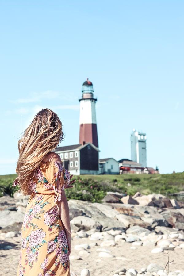 Montauk Light House on Long Island