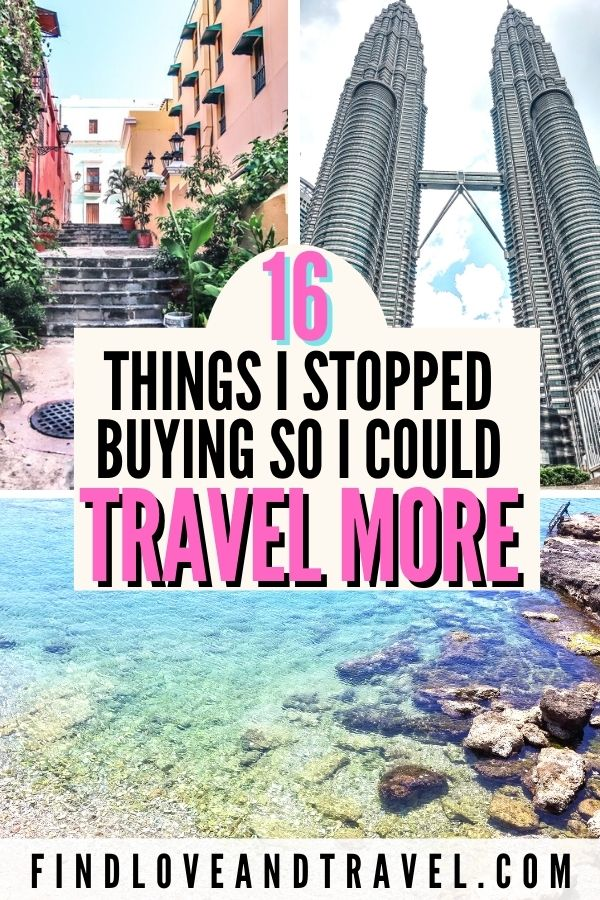 16 Expenses to cut now so you can save and travel more!