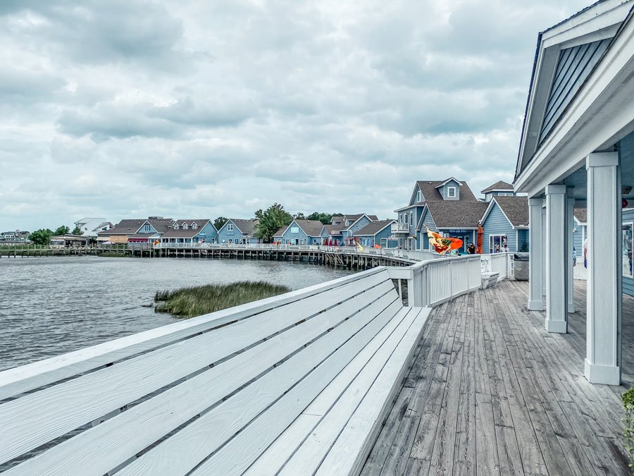 Exploring the duck waterfront stores is another top free thing to do in the Outer Banks