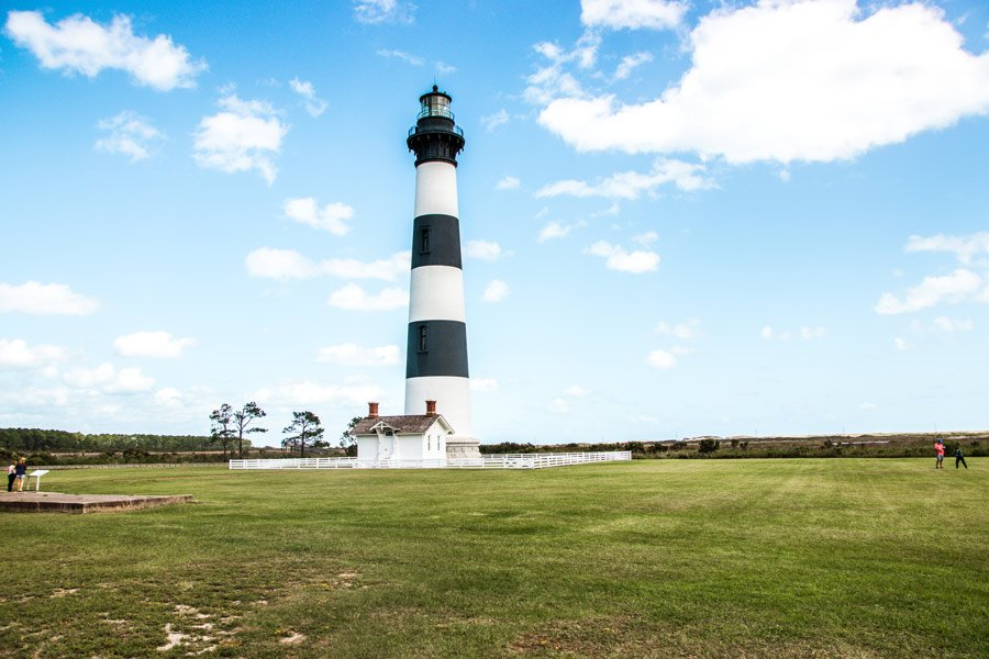 Bodie lighthouse is one of the best free things to see in the Outer Banks