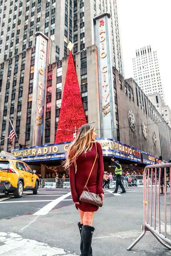 NYC is another perfect winter USA destinations at radio city