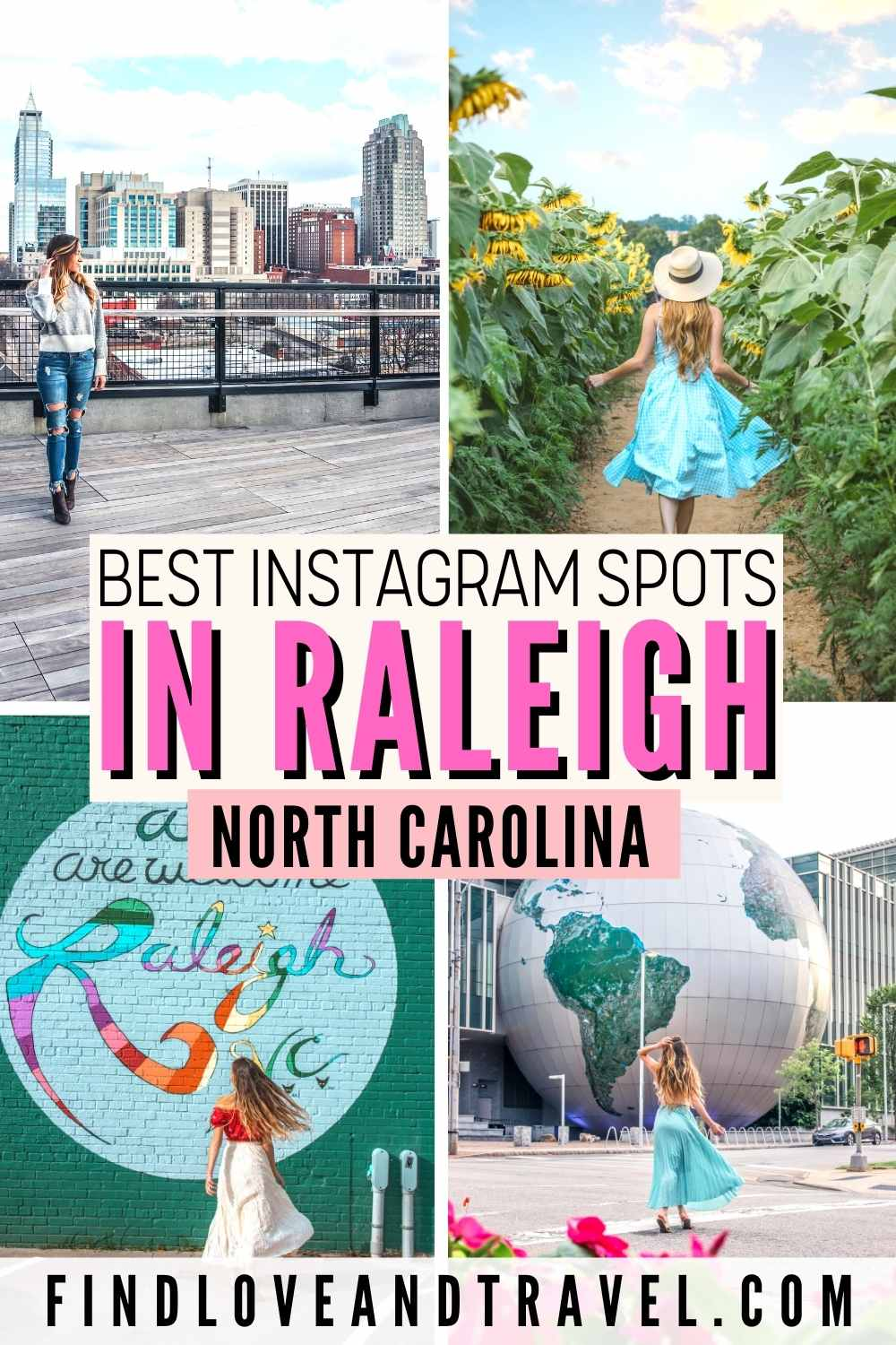 Raleigh instagrammable places NC