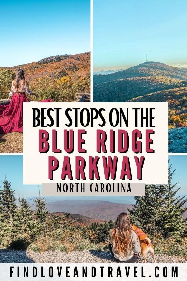 Blue Ridge Parkway Road trip NC itinerary