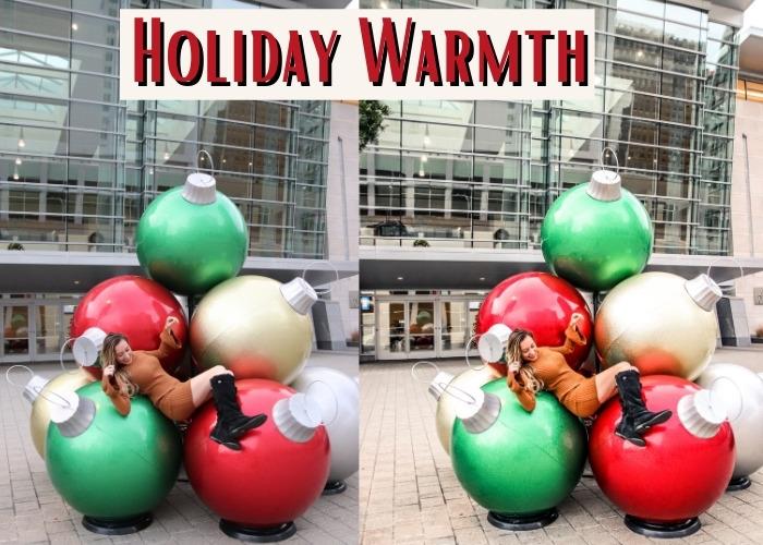 holiday warmth presets