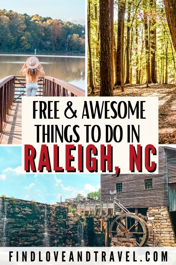 Free things to do in Raleigh