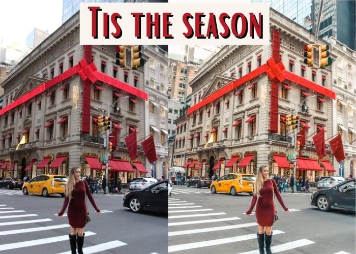 tis the season find love travel presets