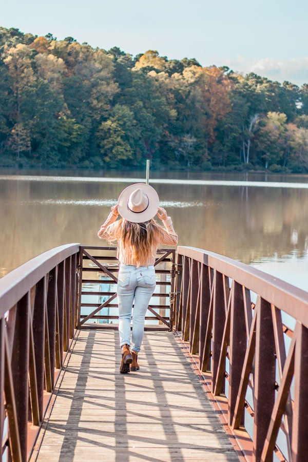 Umstead state park is one of the best free things to do in Raleigh