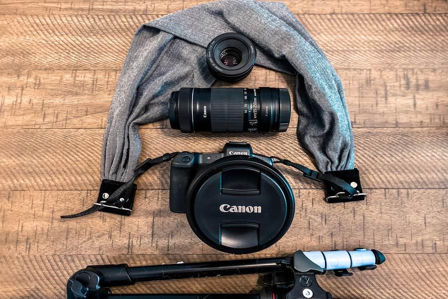 Camera Gear Travel Blogger