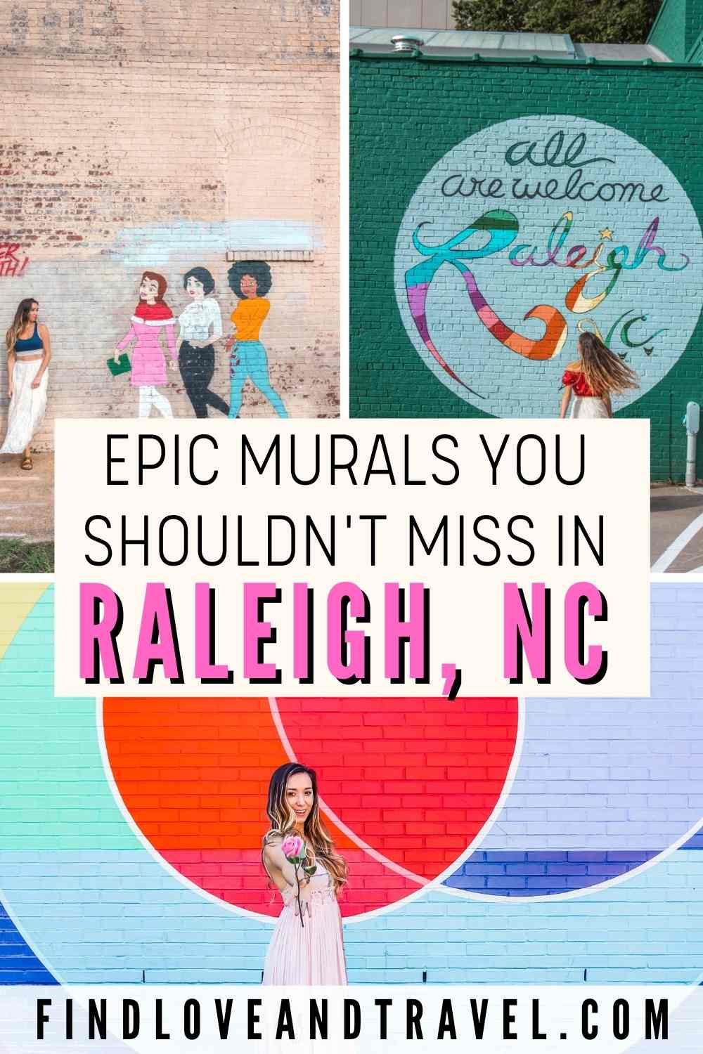 Photo-worthy Murals in Raleigh, NC