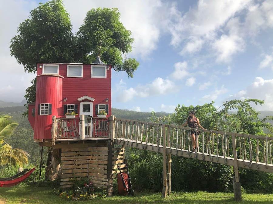 El Yunque Treehouse Airbnb