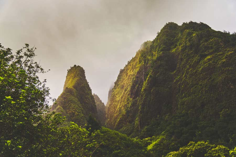Iao Valley State Park in Maui is a must with 5 days in Maui