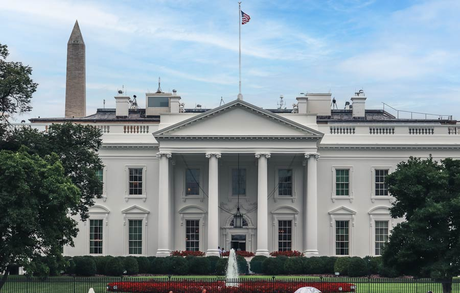 The White house is a must see with a weekend in Washington DC.