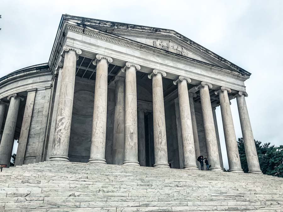 Thomas Jefferson Memorial is a top attraction to see on any weekend itinerary in Washington DC
