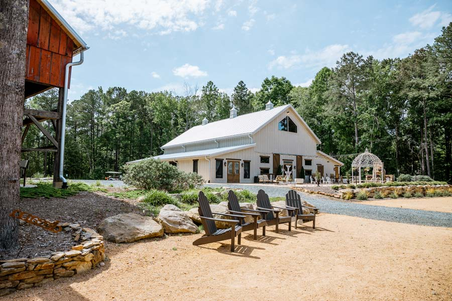 View of the Lavender Farm Shoppe in Chapel Hill, NC