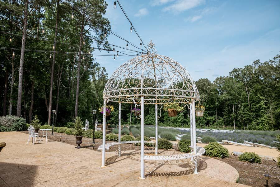 Lavender Oaks Farm view of Fields in NC Chapel Hill
